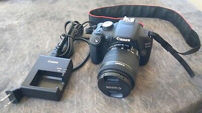Canon EOS 1200D 18.0MP Digital SLR Camera - With Canon EF-S 18-55mm Lens Bundle