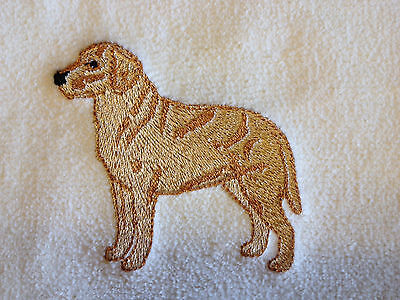 Labrador Retriever, Black Lab, Two Hand Towel, Embroidered, Custom, Personalized