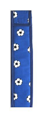 Tin Whistle Cover, Bag. (blue football )