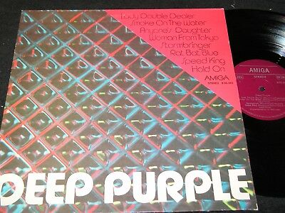 DEEP PURPLE same / unique DDR Compilation LP 1977 AMIGA 855562
