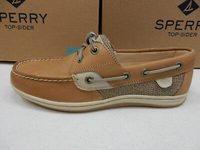 cb187992c SPERRY TOP SIDER Womens Boat Shoes Firefish Python Linen Size 9.5 ...