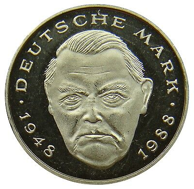 (D16) - BRD Germany - 2 DM Mark 1999 J - Ludwig Erhardt - UNC - KM# 170