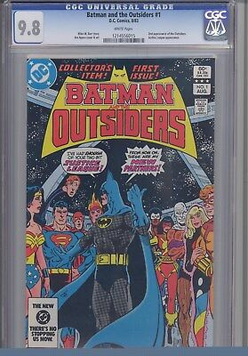 Batman and the Outsiders 1 CGC 9.8 DC 1983  Comic: Make an Offer!
