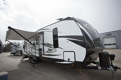 2018 Torque T322 Toy Hauler Travel Trailer Camper RV 1000 miles free shipping