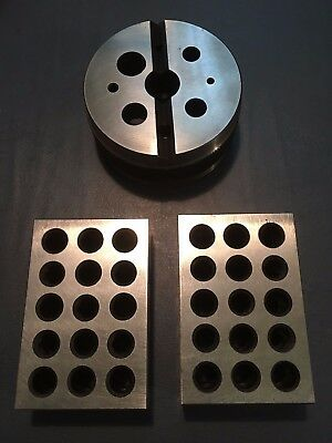 Brand New Bench Block & A pair of 1 2 3 Blocks for Machinist or Tool Die Maker