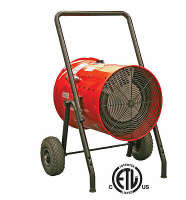 ELECTRIC HEATER - Commercial - 15,000 W - 480 Volt - 3 Ph - 51,180 BTU - 2200 SF