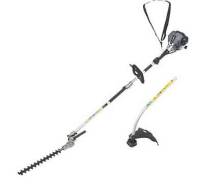 Titan Ttl488Gdo 25Cc Bent Shaft Petrol 2-In-1 Grass & Hedge Trimmer