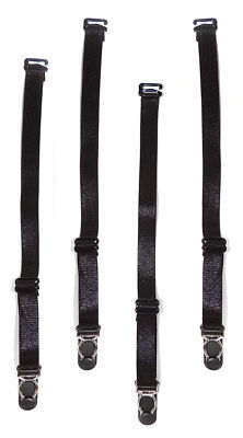 One Size Fits Most Womens Four Piece Garter Strap Set, Extra Garter Straps