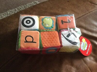 Brand New Grow and Play Soft Discovery Blocks