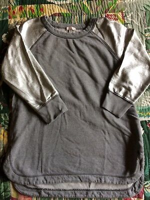 Gap Maternity Shimmer Sleeve Sweatshirt Size Small