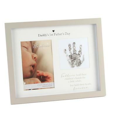 Bambino Unisex Handprint Photo Frame & Ink – Daddy's 1st Father's Day