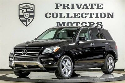 2014 Mercedes-Benz M-Class Base Sport Utility 4-Door 2014 Mercedes Benz ML350 1 Owner Clean Carfax Low Miles