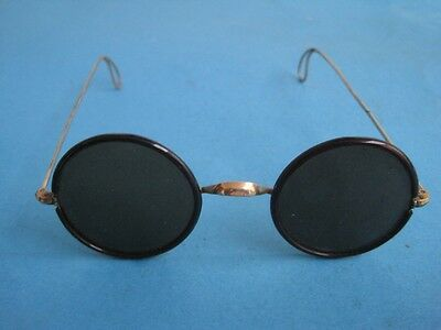 Antique vintage Sunglasses with gold frame very rare