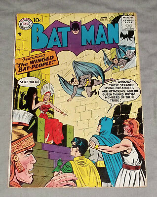 Batman 116 featuring The Winged Bat People! +Batwoman appears Bright & Beautiful