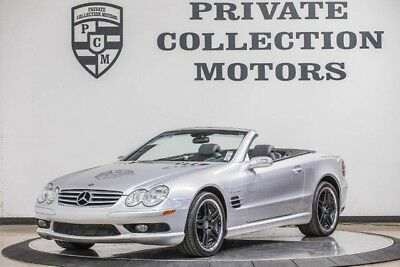 2004 Mercedes-Benz SL-Class Base Convertible 2-Door 2004 Mercedes Benz SL55 AMG 2 Owner Clean Carfax Low Miles Well Kept