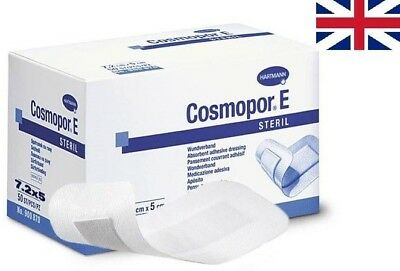 Cosmopor E Sterile First Aid Absorbent Adhesive Wound Dressing (Size Selection)