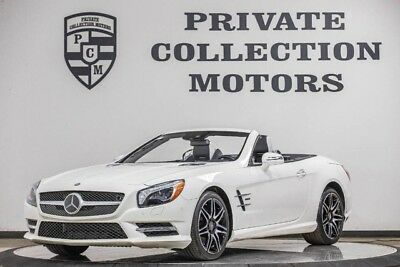 2015 Mercedes-Benz SL-Class Base Convertible 2-Door 2015 Mercedes Benz SL550 White Arrow Edition 1 Owner Clean Carfax Rare