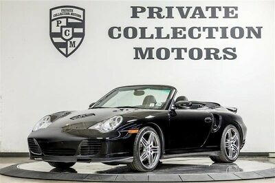 2004 Porsche 911 Turbo Convertible 2-Door 2004 Porsche 911 Turbo Convertible Clean Carfax Low Miles Well Kept