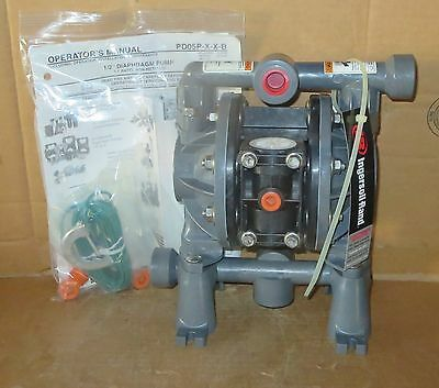 "Aro 1/2"" Air Diaphragm Pump PD05P-AES-DST-G  Acetal Body with Teflon Diaph New"