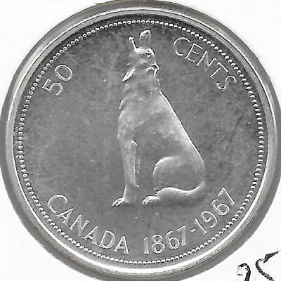 1967 Canadian 50 Cent Peice Proof (Very Nice)