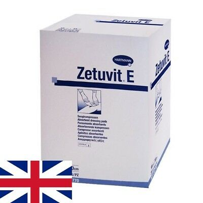 Zetuvit E Sterile Absorbent Dressing Pads First Aid / Wound Care | Select Size
