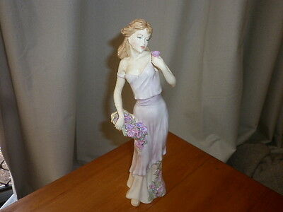 """Royal Doulton++Figurine++""""Tender Moment""""++Rare++Signed by Michael Doulton"""