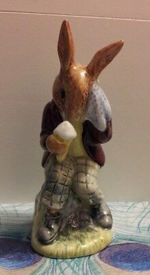 ROYAL DOULTON BUNNYKINS FIGURINE:  Billie Bunnykins Cooling Off  NOW ON SALE!!!