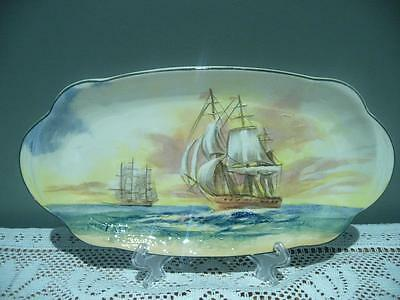 Vintage Royal Doulton Famous Ships Series Ware Small Biscuit Dish - East India