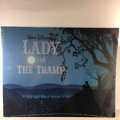 Walt Disneys Lady And The Tramp Exclusive Lithograph Portfolio set of 4