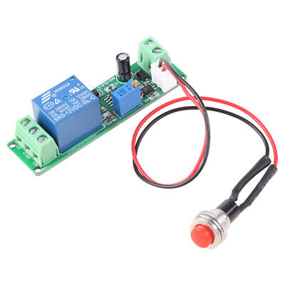 Timing Timer Delay DC 12V Turn OFF Switch Relay Module 1~10s Adjustable