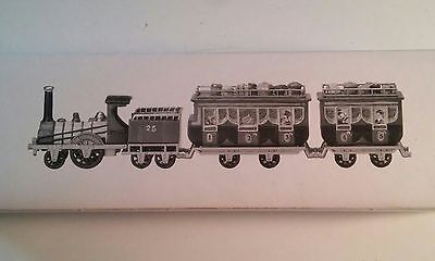 The Flying Scot Train Dickens Village Dept. 56 4 piece set