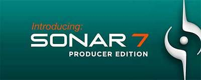 Cakewalk (Roland) Sonar 7 Producer Edition DVD