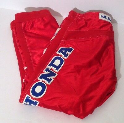 VTG Hallman Tech4 Red Motocross Racing Pants SZ 32 Honda