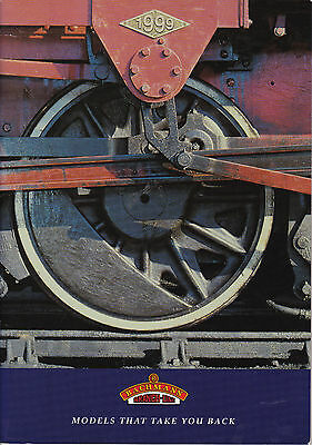 BACHMANN BRANCHLINE OO; 1999 Catalogue. 59 Pages MINT CONDITION