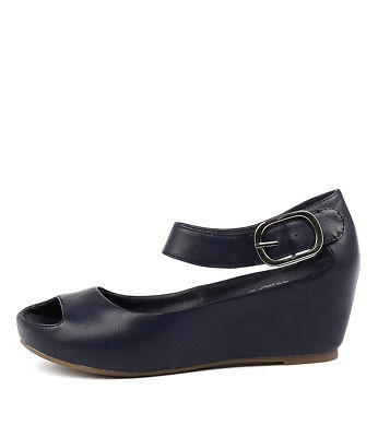 New I Love Billy Tindol Navy Womens Shoes Casual Sandals Heeled