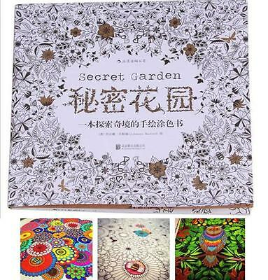 1pcs Hot Chinese Secret Garden An Inky Coloring Painting Book For Children Adult
