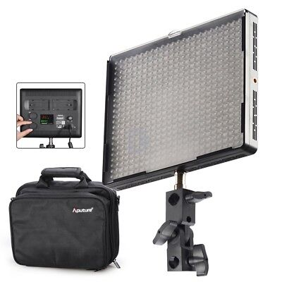 AU Aputure Amaran AL-528C 528 Led Video Light Panel Studio Lighting Kit +Bag