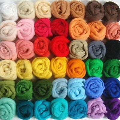 26/36 Colors Wool Felt + Needle Felt Tool Wool Hand DIY Material Package
