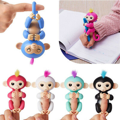 UK WowWee Fingerling Interactive Baby Monkey Toy Sound Finger Motion Hanger Toy