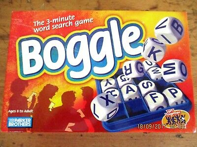 ~~BOGGLE HIDDEN WORD GAME by PARKER BROTHERS - COMPLETE - VGC~~