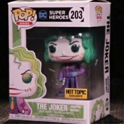 funko pop martha wayne flashpoint the joker exclusive hot topic dc comics batman