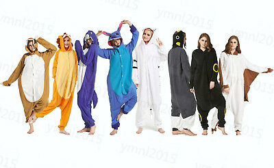 Unisex Adult& Kigurumi Pajamas Animal Cosplay Costume Onesie1 Sleepwear