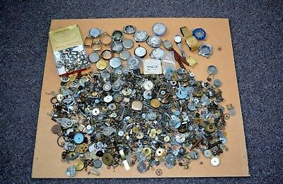 2kgs old watch parts.. (over 3000 pcs)