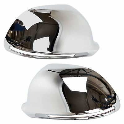 For Audi A3 A4 A6 S3 S4 S6 Chrome wing mirror cover caps