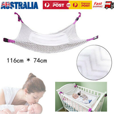 Baby Hammock Folding Oxford Cloth Cot Bed Infant Safety Portable Sleeping Bed