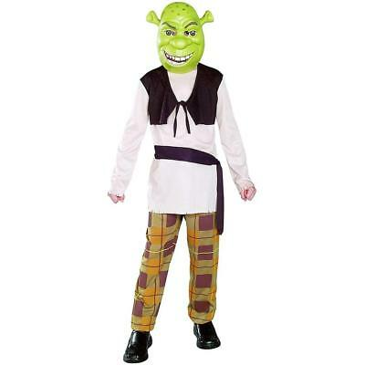 NEW Shrek Ogre Unisex Kids Costume size M 8/10 Officially Licensed Rubie's