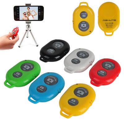 Bluetooth Remote Control Camera Selfie Shutter for iphone Samsung Android Phones