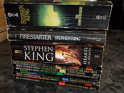 Stephen King lot of 8 horror paperbacks