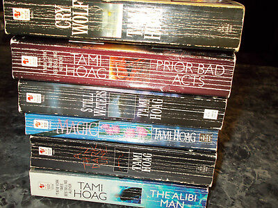 Tami Hoag lot of 6   suspense paperbacks