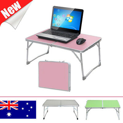 Adjustable Portable Camping Folding Laptop Table Desk PC Computer Reading Tray
